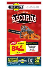 Promos et remises Bricorama BONDY : Catalogue Bricorama