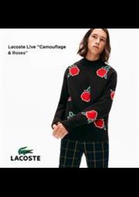 Prospectus Lacoste Lieusaint : Live Camouflage & Roses
