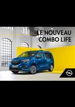 Prospectus Opel : Combo Life