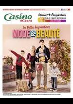 Prospectus Géant Casino : Les belles inspirations mode et beauté