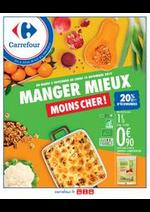 Prospectus Carrefour : Manger Mieux et Moins Cher !