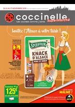 Prospectus Coccinelle : Invitez l'Alsace à votre table!