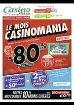 Prospectus Géant Casino : Le mois Casinomania