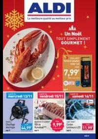 Prospectus Aldi Les Fins : Un Noël tout simplement gourmet!