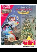 Prospectus Gifi : Magifiquess Décos de Noël