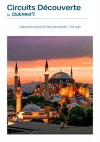 Journaux et magazines CLUB MED voyage FONTAINEBLEAU : Escapades  Été 2020