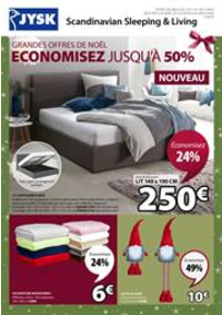 Prospectus Jysk VARENNES-SUR-SEINE : Economisez jusqu'à 50%