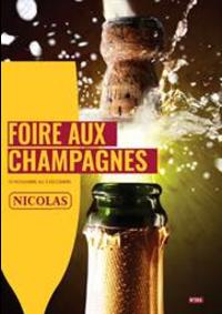 Prospectus NICOLAS FONTAINEBLEAU : Foire aux champagnes