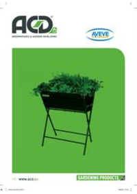 Prospectus AVEVE ASSE : Garden Products