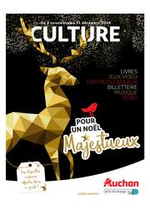 Prospectus Auchan : culturoscope