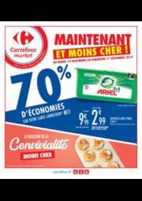 Prospectus Carrefour Market THONON LES BAINS  : Maintenant et moins cher !