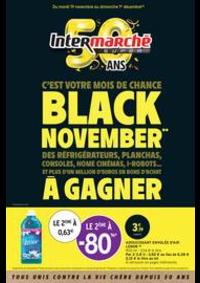 Prospectus Intermarché Super Chilly Mazarin : BLACK NOVEMBER**