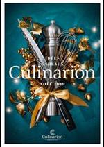 Prospectus Culinarion : Noël 2019