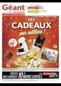 Prospectus Géant Casino EXINCOURT : Des cadeaux par milliers !