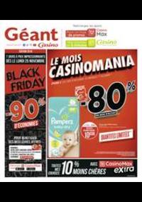 Prospectus Géant Casino EXINCOURT : Black Friday, jusqu'à -90% d'économies