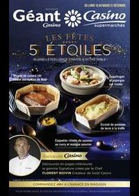 Prospectus Supermarchés Casino PARIS 352 RUE LECOURBE : Les fêtes 5 étoiles