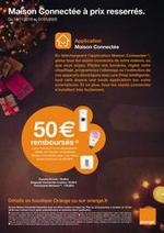 Prospectus Orange : Maison Connectée à prix resserrés.