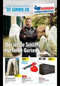 Prospectus Jumbo Maximo Allmendingen b. Bern : Der letzte Schliff für Ihren Garten.