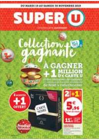 Prospectus Super U CLAMART - AV. HUGO : COLLECTION GAGNANTE