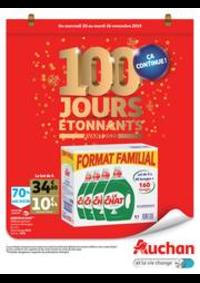 Prospectus Auchan Melun Senart Cesson : 100 jours étonnants avant 2020