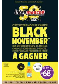 Prospectus Intermarché Express Paris 17 - Av de Clichy : BLACK NOVEMBER**