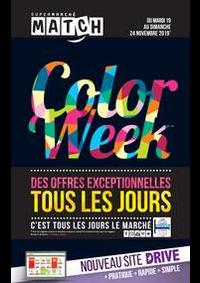 Prospectus Supermarchés Match Huningue : Color week