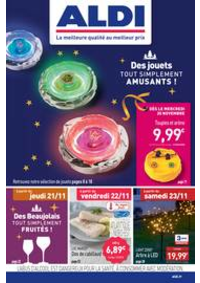 Prospectus Aldi Kingersheim : Des jouets tout simplement amusants!