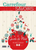 Prospectus Carrefour : Magazine Savoirs Novembre Recto