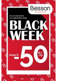 Prospectus Besson Anthy sur Leman : Black Week