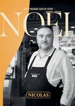 Prospectus Nicolas : Noël 2019