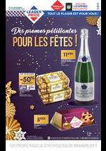 Prospectus  : Des promos pétillantes pour les fêtes!