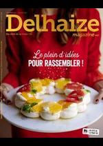 Promos et remises  : Folder Delhaize