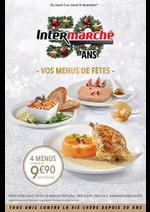 Prospectus Intermarché Express : VOS MENUS DE FÊTES