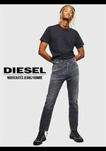 Catalogues et collections Diesel : Nouveautés Jeans  Homme