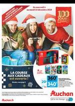 Prospectus Auchan : La course aux cadeaux est ouverte