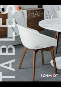 Prospectus Cuisines Schmidt HANNOSSET : Tables and Chairs