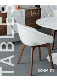 Prospectus Cuisines Schmidt NANINNE  : Tables and Chairs