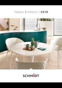 Prospectus Cuisines Schmidt SINT-TRUIDEN-ENGELMANSOVEN : Tables et Chaises Tafels en stoelen 2019