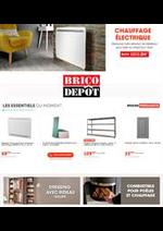 Prospectus Brico Dépôt : Chauffage Électrique
