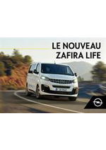 Promos et remises  : Opel Zafira Life