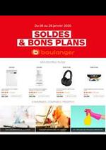 Promos et remises Boulanger : Soldes & Bons Plans