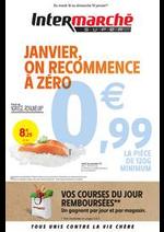 Prospectus Intermarché Super : JANVIER, ON RECOMMENCE À ZÉRO