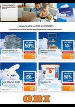 Prospectus OBI : Cumulus-Angebote