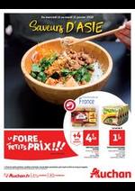 Prospectus Auchan : Saveurs d'Asie
