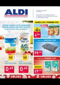 Promos et remises Aldi HANNUT : Le dépliant ALDI de cette semaine