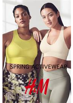 Catalogues et collections H&M : Spring Activewear