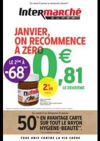 Prospectus Intermarché Super Villeneuve le Roi : JANVIER, ON RECOMMENCE À ZÉRO