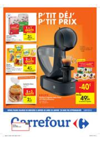 Prospectus Carrefour BOMEREE : Petit déjeuner, petit prix