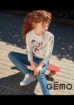 Prospectus Gemo : Nouveautés Fille
