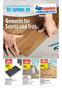 Prospectus Jumbo Maximo Allmendingen b. Bern : Extra: Bodenbeläge